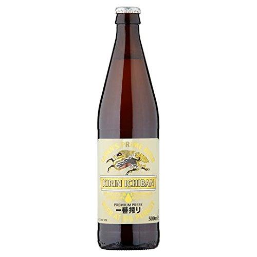 Kirin Ichiban Japanese Beer (12 x 500ml Bottles)