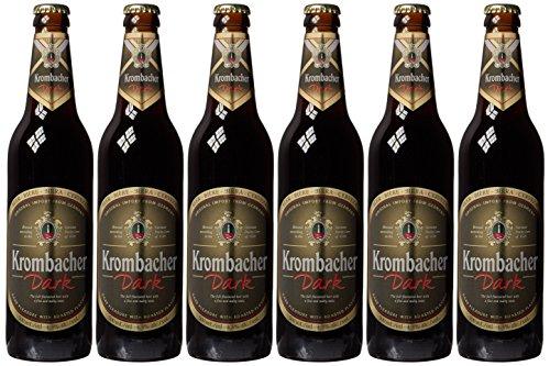 Krombacher Dunkel Beer, 6 x 500 ml
