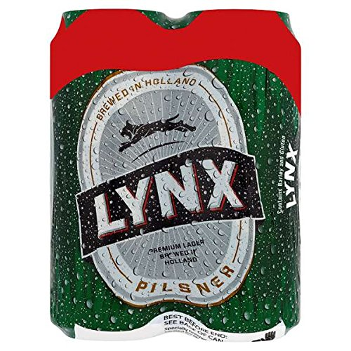 Lynx Pilsner Lager (24 x 500ml Cans)