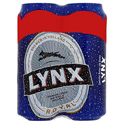 Lynx Royal Lager (24 x 500ml Cans)