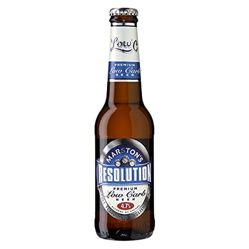 Marstons Resolution Premium Low Carb Beer (24 x 275ml Bottles)