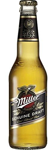 Miller Genuine Draft Lager (24 x 330ml Bottles)