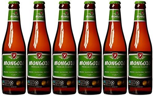 Mongozo Pilsner Beer, 6 x 330 ml