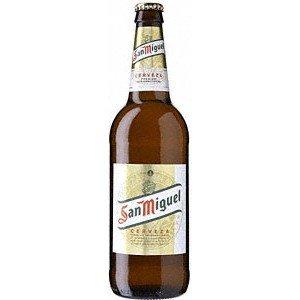 San Miguel – Premium Spanish Lager Beer – 8 x 660 ml – 5% ABV