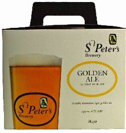 St Peters Brewery Golden Ale Beer Kit