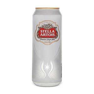 Stella Artois Lager (24 x 440ml Cans)