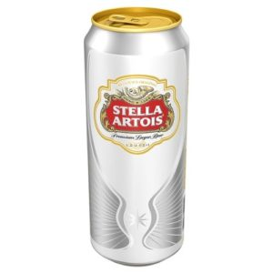 Stella Artois Lager (24 x 568ml Pint Cans)