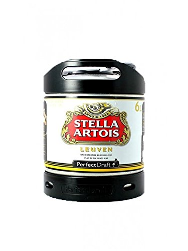 PerfectDraft Stella Artois Premium Belgian Lager 1 x 6 litre Keg for Philips Machine