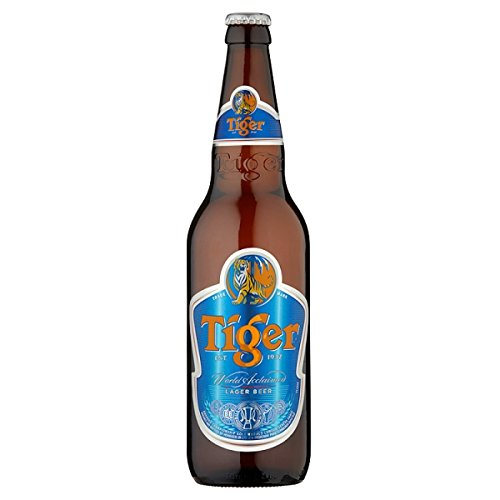 Tiger Lager Beer 640ml (Pack of 12 x 640ml)