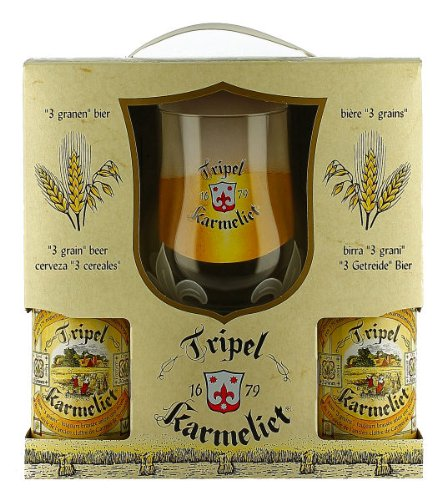 Tripel Karmeliet Gift Pack (4 x 33cl + 1 Glass)
