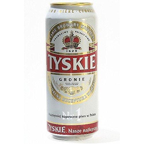 Tyskie Polish Beer (24 x 500ml Cans)