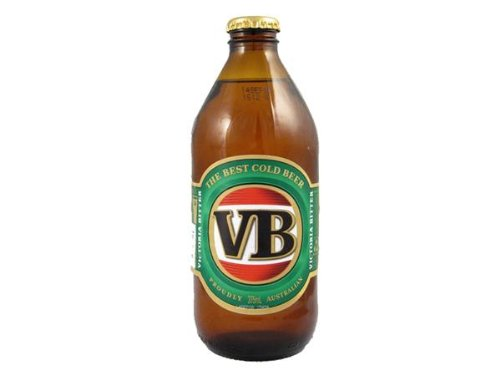 VB Victoria Bitter – Australian Lager – 24x375ml Bottle Case – 4.6% ABV