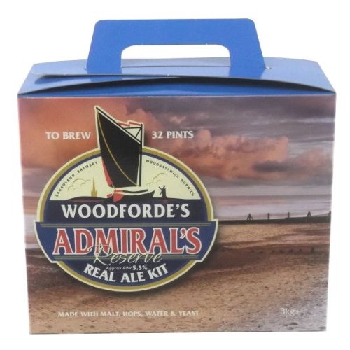 Woodfordes Admiral Reserve Homebrew (3 Kg) (32 pt) Home Brew Beer kit
