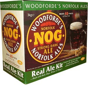 Woodforde's Nog Porter 40 Pint 3kg Home Brew Beer Kit