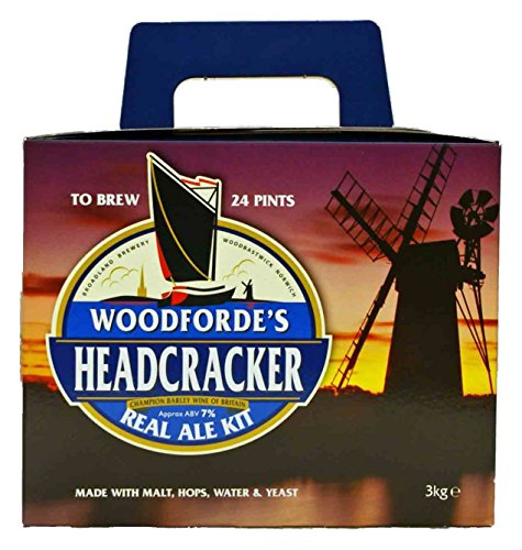 Woodford's Headcracker 24 pint (3kg) home brew real ale kit