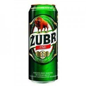 Zubr Polish Lager 24 X 500Ml 6% Alc Vol