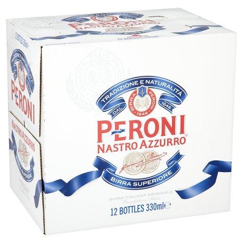 Peroni Nastro Azzurro Lager, 12 x 330ml