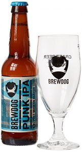 BrewDog Punk IPA Gift Pack with Pale Ale and Glass, 33cl
