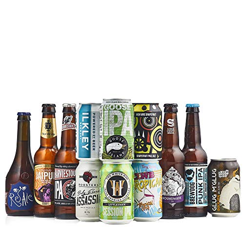Beer Hawk Mixed IPA, Case of 12, 12 x 165ml