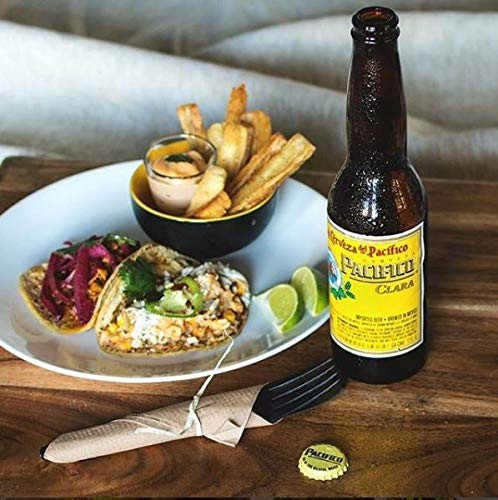 PACIFICO CLARA Mexican Lager Beer 24x355ml Bottles, 4.5% ABV, imported from Mexico – Ideal Gift for Party