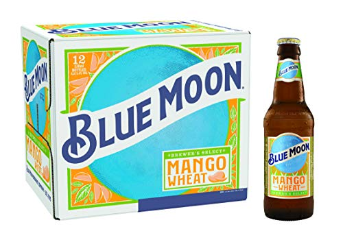 Blue Moon Mango Wheat American Craft Beer 12 x 330 ml Bottles