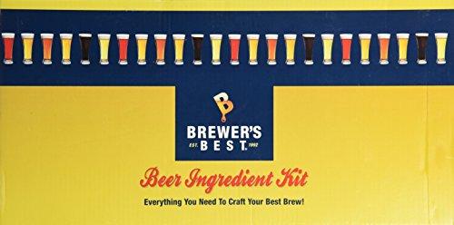 Brewer's Best Double IPA Beer Ingredient Kit, Yellow