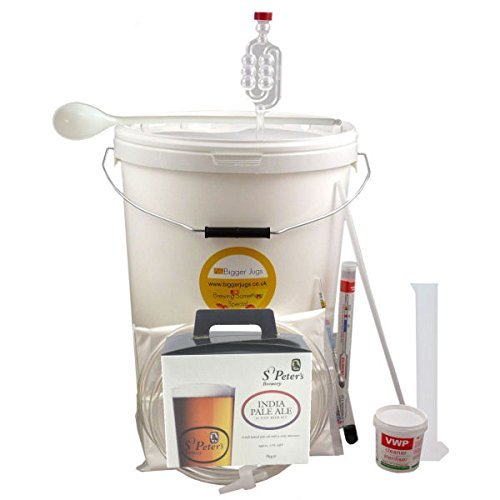 32 Pint Homebrew Beer Making Starter Kit – St Peters IPA, Home Brew Microbrewery