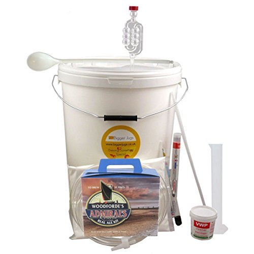32 Pint Homebrew Beer Making Starter Kit – Woodfordes Admirals Reserve. Home Brew Microbrewery