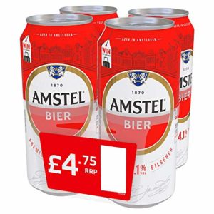 Amstel Beer Premium Lager PM £4.50 (6X4X440ml)