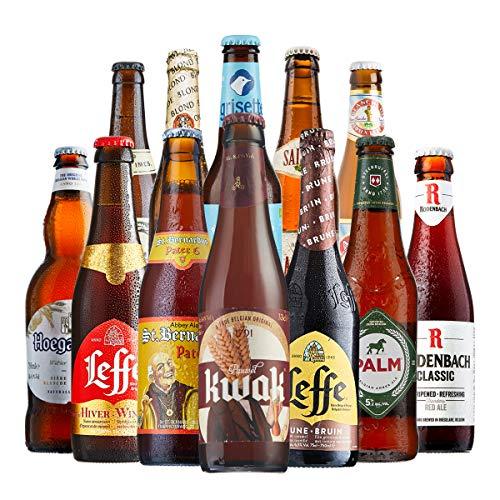 BEER HAWK Belgian Craft Beer Mixed Case – 12 Belgian Beers – Belgian Beer Gift Idea for Any Beer Lover, 3880ml