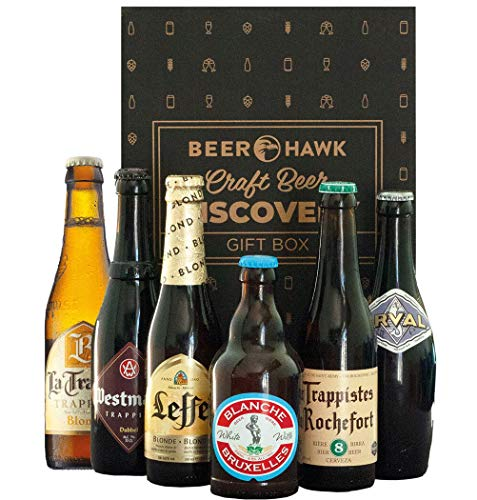 Beer Hawk Belgian & Trappist Discovery Case – 6 Beers – Belgian and Trappist Beer Gift Hamper