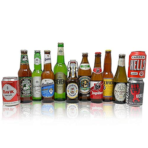 Beer Hunter's World Lager Discovery Mixed Beer Case (12 Pack)