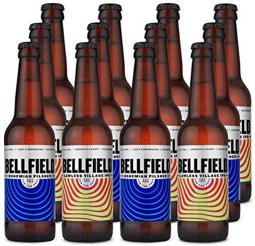 Bellfield Brewery: Mixed Case Bottles (12x330ml gluten-free beer)