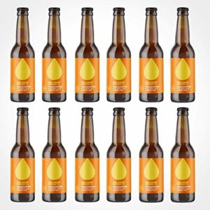 Big Drop Brewing Co Fieldhopper – Golden Ale 0.5% – Non Alcoholic Beer, 330 ml – 12 count