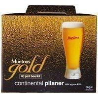 """Braukit, Bierdose, Beer Kit-Muntons Continental Pils """"Gold"""""""