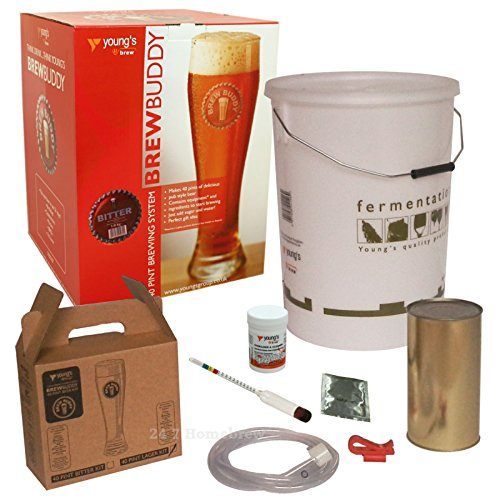 Brew Buddy Beer 40 Pints Home Brew Starter Kit