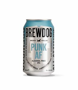 BrewDog – Punk AF 0.5% – Alcohol Free – 330ml x 24 Cans – 6 x 4 Pack
