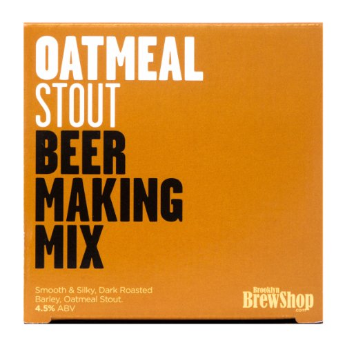 Brooklyn Brew Shop Beer Making Mix – Oatmeal Stout