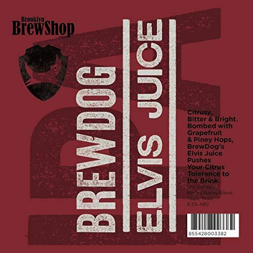 Brooklyn Brew Shop BrewDog Elvis Juice Beer Making Mix