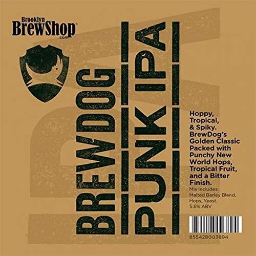 Brooklyn Brew Shop BrewDog Punk IPA Recipe Kit (1 US gallon/3.8L)