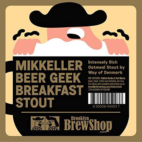 Brooklyn Brew Shop Mikkeller Beer Geek Breakfast Stout Beer Making Mix