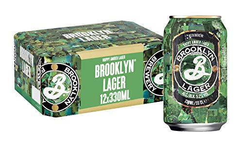 Brooklyn Lager Beer, 12 x 330 ml, Case of 12