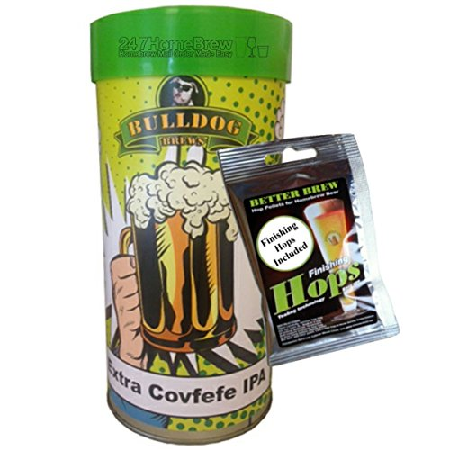 Bulldog Brews Extra Covfefe IPA with Finishing Hops Makes 23L/5 Gallon 4.7% ABV