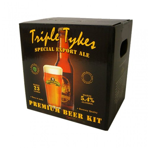 Bulldog Home brew kit – Triple Tykes Special Export Ale