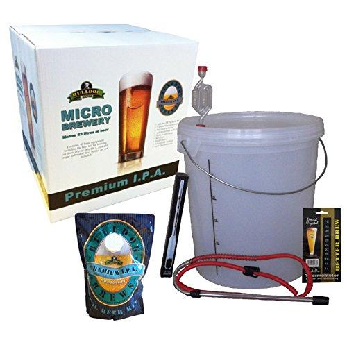Bulldog Micro Brewery – IPA – Starter Equipment and Beer Kit
