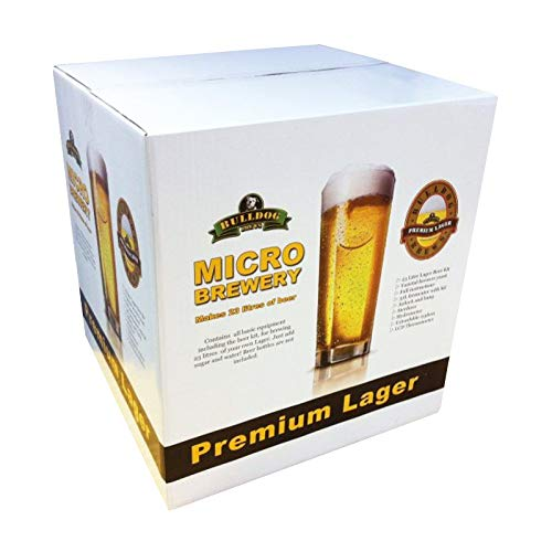 Bulldog Micro Brewery – Lager – Starter Equipment and Beer Kit