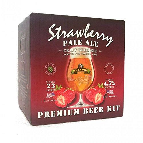 Bulldog Strawberry Pale Ale Craft beer Kit