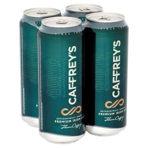 Caffrey's Premium Irish Ale, 4 x 440ml