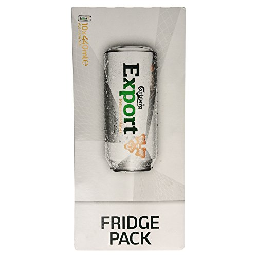 Carlsberg Export Fridge Pack, 10 x 440ml