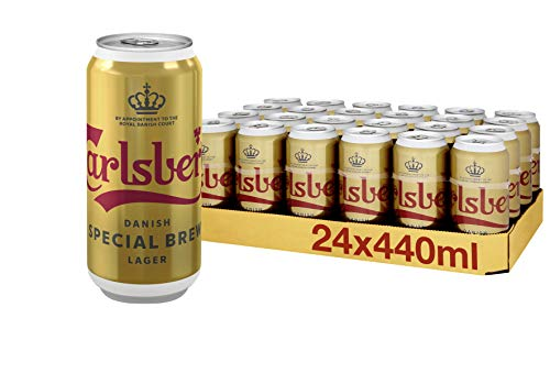 Carlsberg Special Brew Lager Beer, 24 x 440 ml, Case of 24